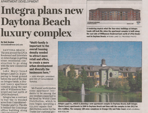 Integra plans new Daytona Beach luxury complex